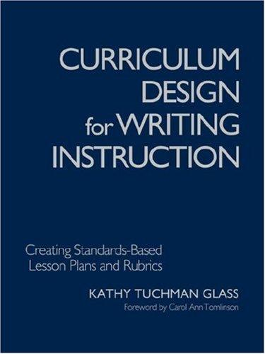 Download Curriculum Design for Writing Instruction