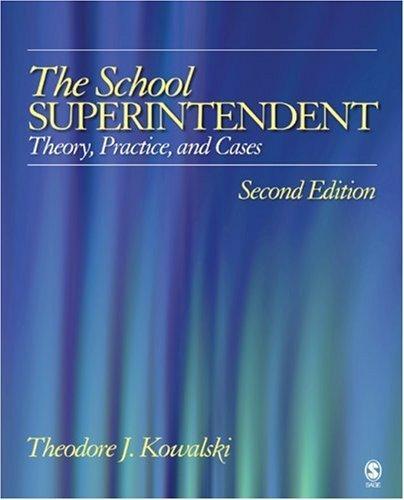 Download The School Superintendent
