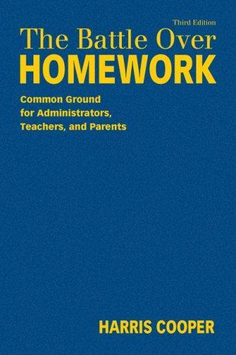 Download The Battle Over Homework